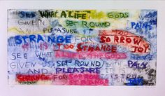 Joan Snyder, 'See What a life...,' 2010, Jungle Press