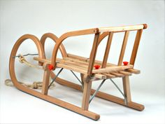 Old Wooden Sleds | german wooden creations german wooden sleds sleigh sled back rest