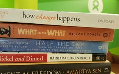 Many of us at Oxfam eat books up like we do candy from the communal office candy jar. So when a few of us started comparing notes on what books were on our Good Books, Books To Read, My Books, Drawing Book Pdf, Perspective On Life, Perspective Drawing, Oppression, Morality, Best Book Covers