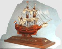 Russia Eagle Ship Model