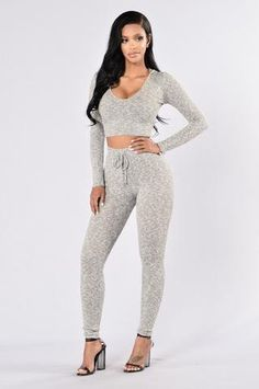 Womens Matching Tops & Bottoms | Crop Tops & Hoodies with Leggings