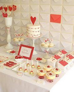 Valentine's Day dessert table | Just Call Me Martha blog