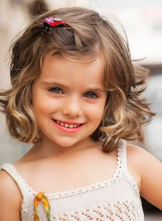 2017 Kız Çocuk Saç Kesim Modelleri