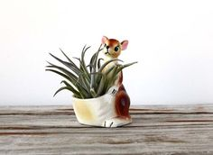 Kangaroo Pocket Planter by GallivantingGirls on Etsy