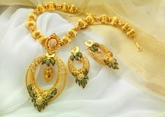 Jewellery set at best price online for women Trendy Jewelry, Jewelry Sets, Women Jewelry, Mens Gold Bracelets, Gold Necklaces, White Gold Jewelry, Gold Jewellery, Temple Jewellery, Pendant Jewelry