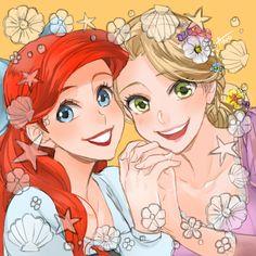 My 2 favorite Disney princesses!!!!!!!!!!!!!!!!!!!!!!!!!!!!!!!!!!!!!!!