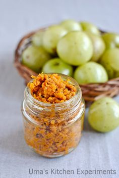 Grated Amla Pickle (Indian Gooseberry pickle)