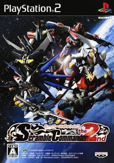 Super Robot Taisen Scramble Commander The 2nd Jpn Ps2 Iso Rom
