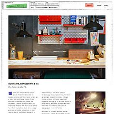 Webpick of the day - Jeremy Holmes self-promotion