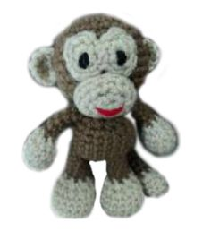 Amigurumi To Go!: Crochet Little Bigfoot Monkey (amigurumi easy pattern) - other cute patterns here too!