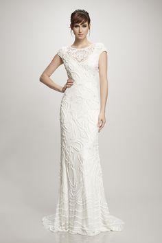 Gia Bridal Gown Theia Elegant Wedding Dress Luxe White Gowns