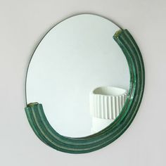 Cool Mirrors, Mirror Art, Diy Mirror, Cool Furniture, Furniture Design, Glass Ceramic, Ceramic Design, Container Cabin, Cargo Container