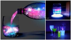 DIY Aurora Juice - A Glowing Cocktail For The Holidays - Find Fun Art Projects to Do at Home and Arts and Crafts Ideas