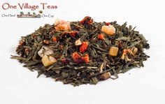 Long Island Strawberry Green Tea  Smooth green tea with an exceptional summertime sweetness of strawberry and papaya. Enjoyed served hot and as an iced tea.  www.onevillageteas.com  Ingredient Highlights Green tea, pieces of strawberry and papaya Most Favorite, Iced Tea, Long Island, Summertime, Tea Cups, Highlights, Strawberry, Smooth, Herbs
