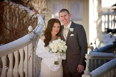 Bride and groom - New Year's Eve wedding #BlackHillsReceptions