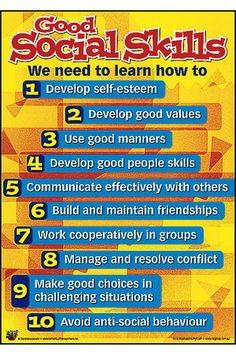 Building good social skills, at any age - Behaviour Management Toolkit Social Skills Activities, Teaching Social Skills, Social Emotional Learning, Manners Activities, Teaching Activities, Behaviour Management, Classroom Management, Coping Skills, Life Skills