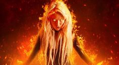 50 effect tutorials like A Fantasy Fiery Portrait Photo-Manipulation
