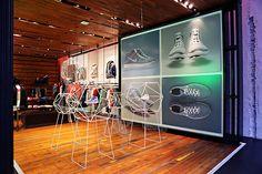 All new Nike Flyknit Chukka installation up at 21 Mercer St., NYC.