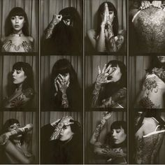 My inspiration hannah snowdon. She has gorgeous tattoos and I love all of her work she's so talented