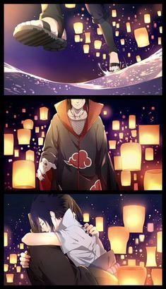 Itachi Uchiha and Sasuke Uchiha Sasuke E Itachi, Naruto Uzumaki, Anime Naruto, Naruto Comic, Naruto Cute, Naruto Funny, Sakura And Sasuke, Sasunaru, Narusasu