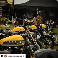Look at all that loveliness  #Repost @fastersonsfans with @repostapp    #Repost @overboldmotorco with @repostapp    Yamaha 60th anniversary stuff. #yamaha #xj600 #xsr900 #bolt #xv950 #virago #virago750 #caferacer #custommade #custombuilt #kennyroberts #lagunaseca #tracker #fastersons #beauty #insane #picoftheday #caferacerofinstagram #caferacerxxx #motorcycles #motorcyclesofinstagram #motoporn #motorbeachfest2016 #motorbeach #scramblerproject #scrambler @yamahamotor_es @yamaha_yard_built…