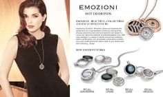 The Necklace's, Coin's, & Keeper's that started it all. EMOZIONI by Hot Diamonds. Available at Instylesilverjewelry.com