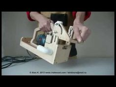 Portable Mortising Router - part 1 - YouTube
