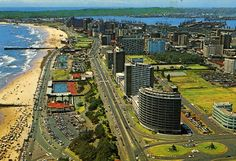beach front view Durban South Africa, When I Grow Up, Growing Up, City Photo, Southern, Memories, Beach, Travel, Memoirs