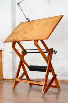 French Counterweighted Drawing Table