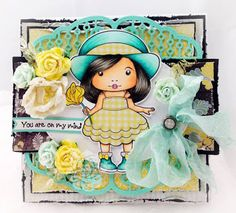 La-La Land Crafts Inspiration and Tutorial Blog: Inspirational Monday - Add Glitter
