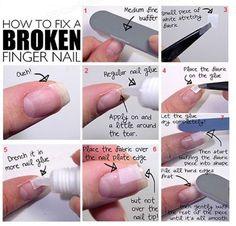Fast and Easy DIY Methods for Fixing Cracked or Broken Fingernails - DIY & Crafts