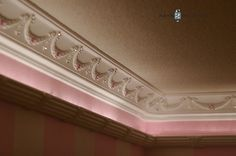 Should we do some crown moulding in an room and maybe family room Princess Bedrooms, Princess Room, New York Penthouse, House Makeovers, Kids Decor, Home Decor, Crown Molding, Little Girl Rooms, Room Themes