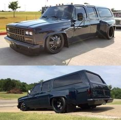 Murdered out chevy Bagged Trucks, Dually Trucks, Mini Trucks, Gm Trucks, Pick Up, Chevy Pickup Trucks, Chevrolet Trucks, Welding Trucks, Dropped Trucks