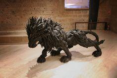 Amazing Tire Art from Yong Ho Ji
