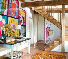 Casa de sítio com decoração colorida e apaixonante... - Jeito de Casa - Blog de Decoração