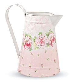 cute pitcher. so vintage & girly!