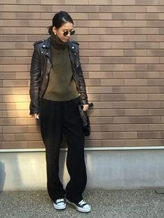 BEAUTY&YOUTH UNITED ARROWSのパンツ「<6(ROKU)> GEORGETTE TUCK PANTS/パンツ」を使ったemaemiのコーディネートです。WEARはモデル・俳優・ショップスタッフなどの着こなしをチェックできるファッションコーディネートサイトです。