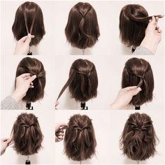 Für mittelkurze Haare