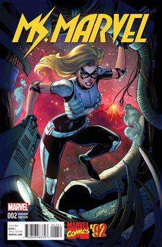 Star-lord & F4-2015 Art By Esad Ribic Brilliant Secret Wars #1 P.24 Captain Marvel