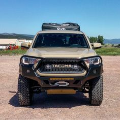2016+ Tacoma (3rd Gen) Overland Series Front Bumper (Full Size/No Cut) | C4 Fabrication 2016 Tacoma, 2017 Toyota Tacoma, Toyota 4x4, Toyota Trucks, Lifted Ford Trucks, Jeep Truck, Ram Trucks, Toyota Tundra, Tacoma Accessories