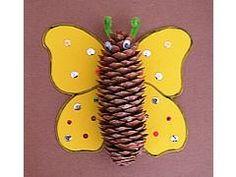 Det et da det grankogler skal bruges til. K Crafts, Nature Crafts, Preschool Crafts, Fall Crafts, Arts And Crafts, Craft Activities For Kids, Crafts For Kids, Christmas Activities, Craft Ideas
