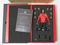 Hot Toys MIS10 - MICHAEL JACKSON Beat It Version 12 inch figure F/S from Japan #HotToys