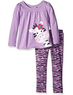 Kids Headquarters Heather Leggings Jiraffe. >>> Click image to review more details. (This is an affiliate link) Kids Headquarters, Tunics With Leggings, Disney Girls, Long Pants, New Kids, Little Girls, Baby Girls, Outfit Sets, Latest Fashion Trends