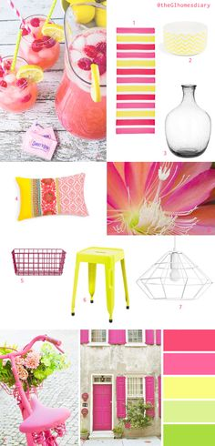 The GI home's diary: Summer Moodboard - Design Time