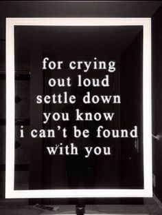 Settle Down, the 1975