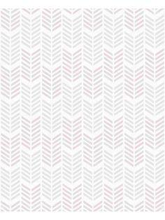 Papier peint Fluo Oiti, chevrons gris mauve. Graham & Brown