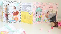 Mini im Beutel - Maggie Holmes/Crate Paper Carousel - Ulrike Dold Mini Scrapbook Albums, Scrapbook Paper Crafts, Mini Albums, Crate Paper, Mail Art, Crates, Snail Mail, Carousel, Minis