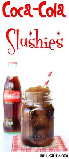 Nothing beats an ice cold Coca Cola Slushie Recipe on a hot day! No need to run to the nearest Slush or Slurpee machine... it's SO easy to make at home!