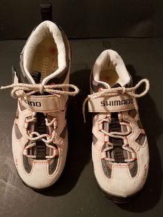 9fe7a3d2b4138f Shimano SH-WM40 Women s Bike Cycling Shoes Biking Size US 9.5 Euro 42   Shimano