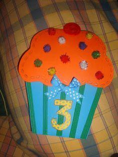 Φρου Φρουκατασκευές στον Παιδικό Σταθμό!: Οι κάρτες μας για ονομαστικές γιορτές και γενέθλια